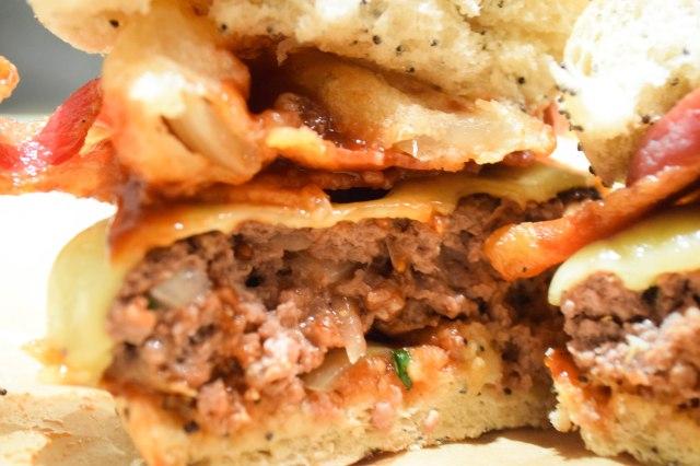 Sweet Barbecue Kim-cheese Burgers Recipes — Dishmaps
